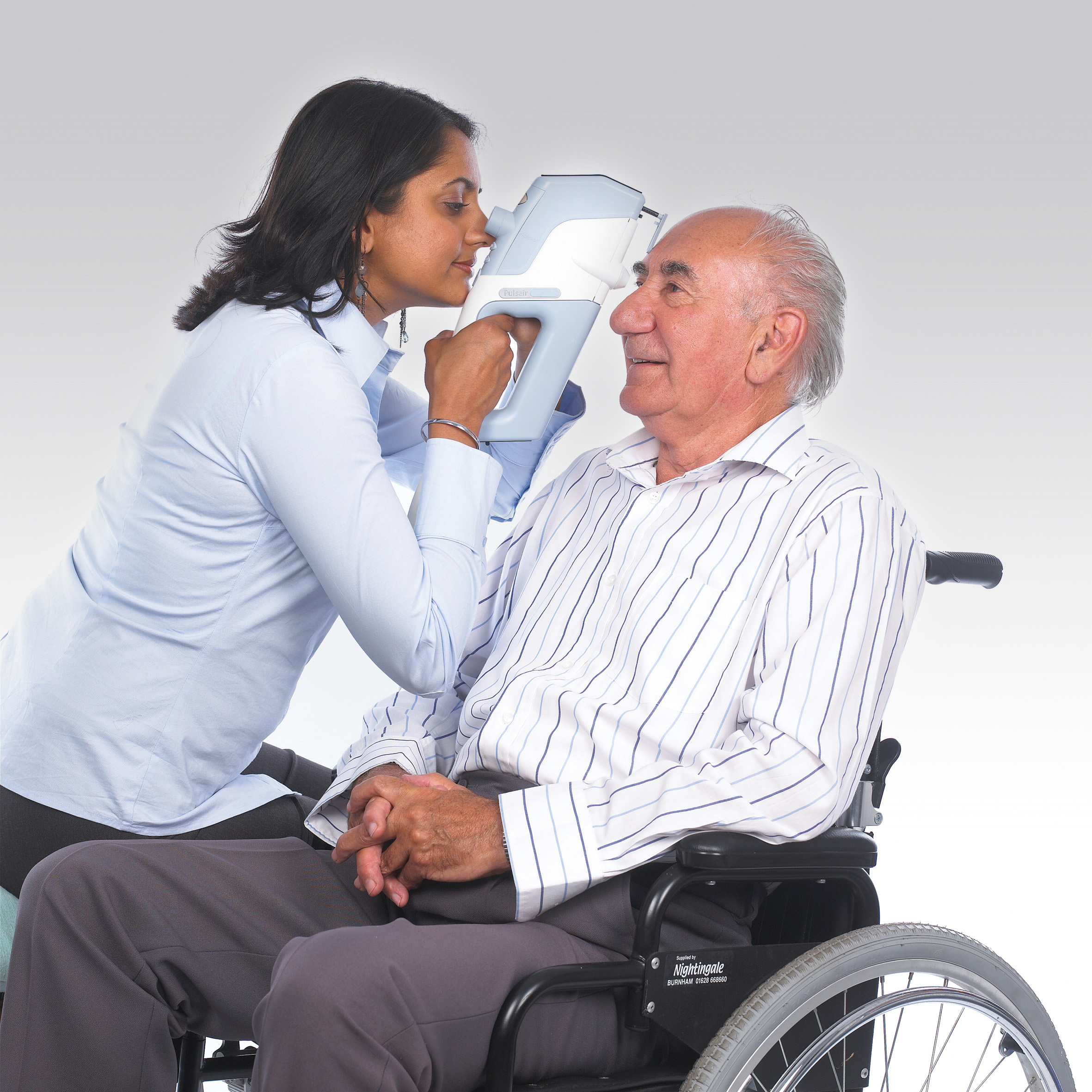 Intellipuff Exam Wheelchair